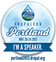 I am Speaking at DrupalCon Portland