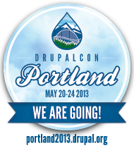 We are going to DrupalCon Portland