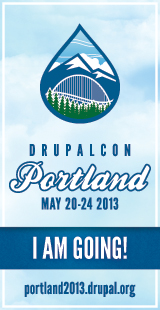 I'm going to DrupalCon Portland