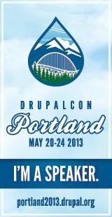 I'm a Speaker at DrupalCon Portland