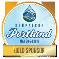 DrupalCon Portland Gold Sponsor